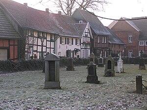Alfhausen - Image: St johannis alfhausen kirchburg