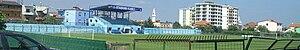 Kamëz Stadium - Image: Stadiumi Kamez Panorama