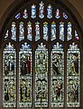 Stained glass window, St Mary's church, Westham (15978022865).jpg