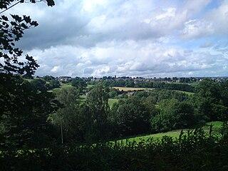 Stainland Village in West Yorkshire, England