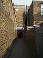 Stamford Brook stn rear entrance.JPG
