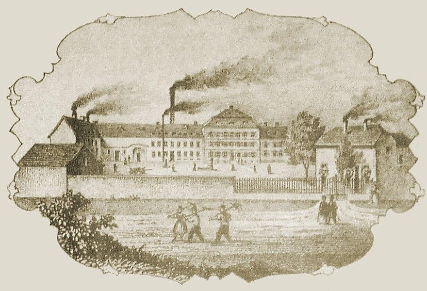 Pappmachéfabrik Ensheim 1839