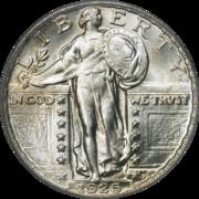 Standing Liberty Quarter Mintage Figures Wikipedia