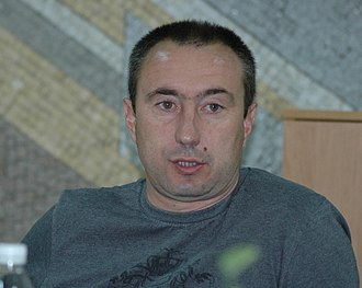 FC Astana - Stanimir Stoilov, the current manager of Astana