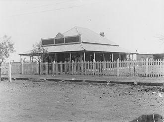 Shire of Bulloo - Shire Hall, Thargomindah, circa 1893