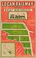StateLibQld 2 262796 Estate map for Logan Railway Estate, Rocky Waterholes, Salisbury, Brisbane, Queensland, 1885.jpg