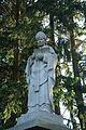 Statue 6 in gardens of Domov svaté Anežky in Velký Újezd, Kojatice, Třebíč District.JPG