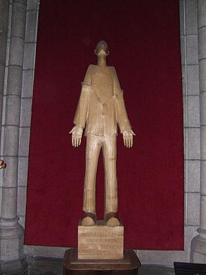 Marcel Callo - Statue in Rennes.