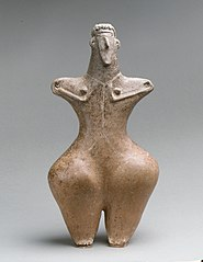 Statuette of a female