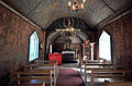 Stave church Undredal nave and chancel.jpg