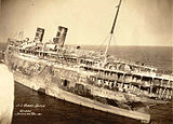 Steamship Morro Castle Burned out hulk.jpg