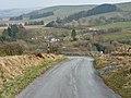 Steep road in Cwm Troedyresgair - geograph.org.uk - 1233447.jpg