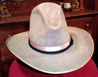Cowboy hat - Stetson hat manufactured in the 1920s