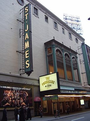 St. James Theatre - The St. James Theatre, 2006