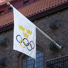Stockholms Stadion Olympiaflag 2012. jpg