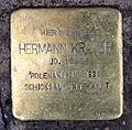Stolperstein Auguststr 27 (Mitte) Hermann Kramer.jpg