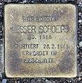 Stolperstein Bachstr 2 (Hansa) Lesser Schoeps.jpg