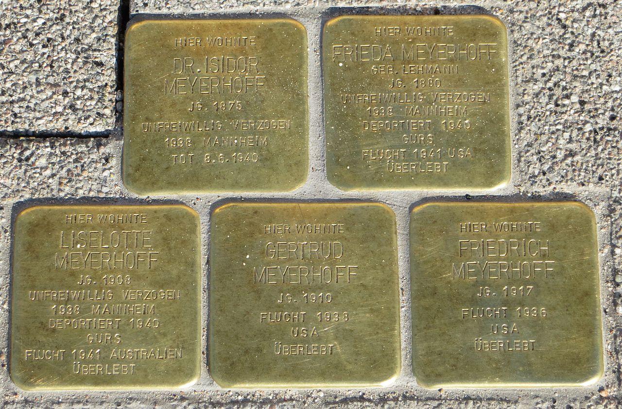 Stolperstein Familie Meyerhoff Gaggenau.jpg