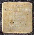 Stolperstein Heilbronner Str 8 (Schön) Elisabeth Martha Fischer.jpg
