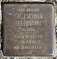 Stolperstein Stormstr 10 (Weste) Ludwig Beermann.jpg