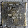 Stolperstein Warschauer Str 12 (Friedh) Betty Leder.jpg