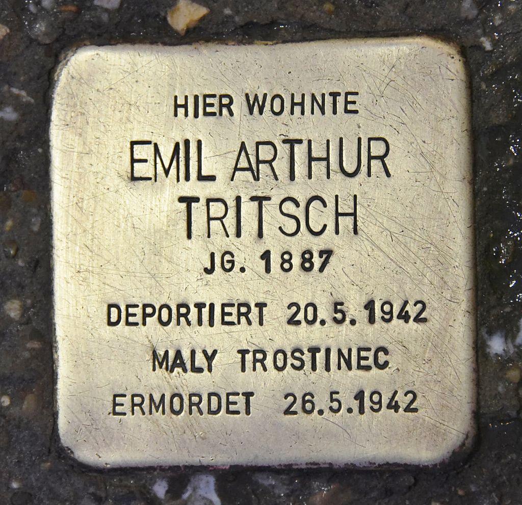 Stolperstein für Emil Arthur Tritsch 2.JPG