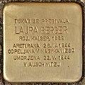 Stolperstein für Laura Berger (Murska Sobota).jpg