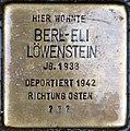 Stolpersteine Höxter, Berl-Eli Löwenstein (Westerbachstraße 5).jpg