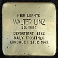 Stumbling block for Walter Linz (Schaurtestrasse 1)