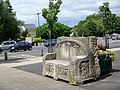 Stone seat, Frome Market Place - geograph.org.uk - 866209.jpg