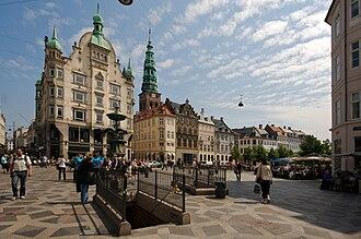 Pedestrian zone - Strøget, Copenhagen's pedestrian zone