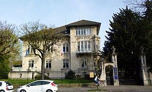 Villa Schutzenberger - Image: Strasbourg villa Schutzenberger 2014 (4)