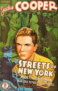 <i>Streets of New York</i> (1939 film)