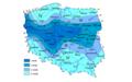 Strefy klimatyczne zróżnicowanej celowości stosowania nawodnień deszczownianych.png