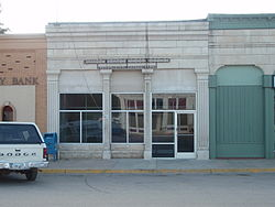 U.S. Post Office in Strong City, 2009