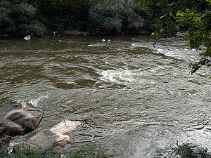 Struma (river) - Image: Strumaat Kresna Gorge