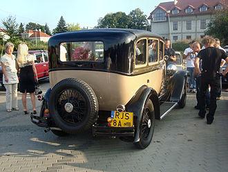Studebaker Dictator - 1927 4-door sedan
