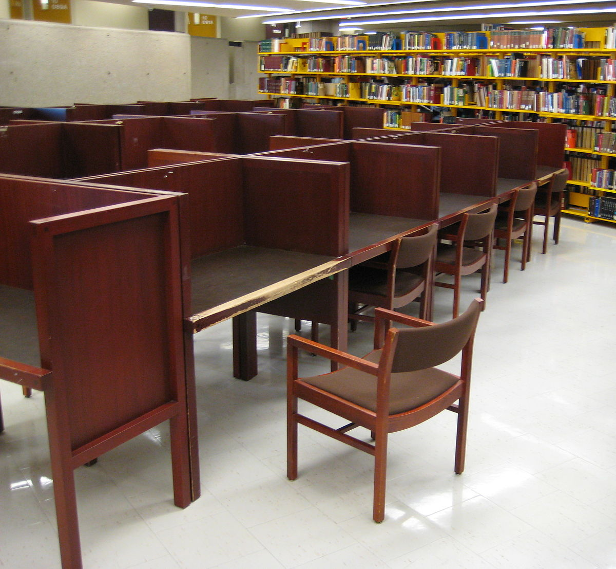 Study Carrels for School, College & Public Libraries - K ...