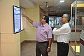 Subhabrata Chaudhuri Demonstrating NDL Facilities To Swapan Kumar Roy - NCSM - Kolkata 2016-08-22 5979.JPG