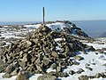 Summit Cairn on High Stile - geograph.org.uk - 1745320.jpg