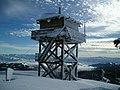 Summit Point Lookout in Winter, Wallowa-Whitman National Forest (31968643221).jpg