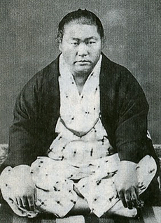 Umegatani Tōtarō I Japanese sumo wrestler