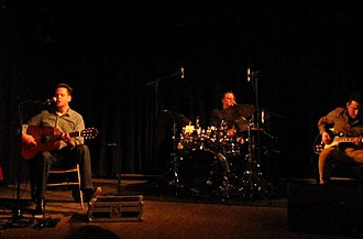 Sun Kil Moon - Sun Kil Moon performing at Le Divan du Monde, (Mark Kozelek, Eric Pollard, Vasco Espinheira) Paris 2014