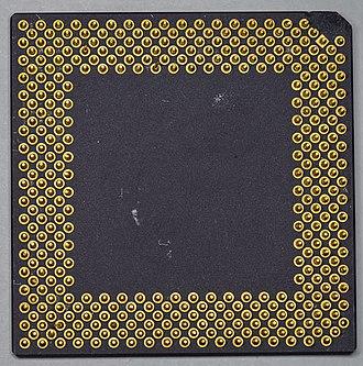 UltraSPARC II - Sun UltraSPARC IIe (back side)