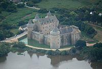 kasteel van Suscinio (noordwest)