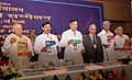 Sushilkumar Shinde releasing the DDG Guidelines, REC State-wise & District-wise Booklet and Brochure at the inauguration of the Conference of Power Ministers of States and UTs, in New Delhi on June 23, 2009.jpg