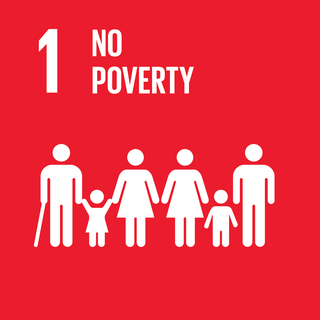 Sustainable Development Goal 1 The first of 17 Sustainable Development Goals to end poverty everywhere