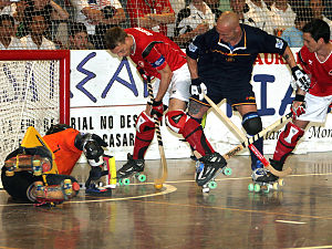 Switzerland-Spain final 2007 rink hockey world championship.jpg