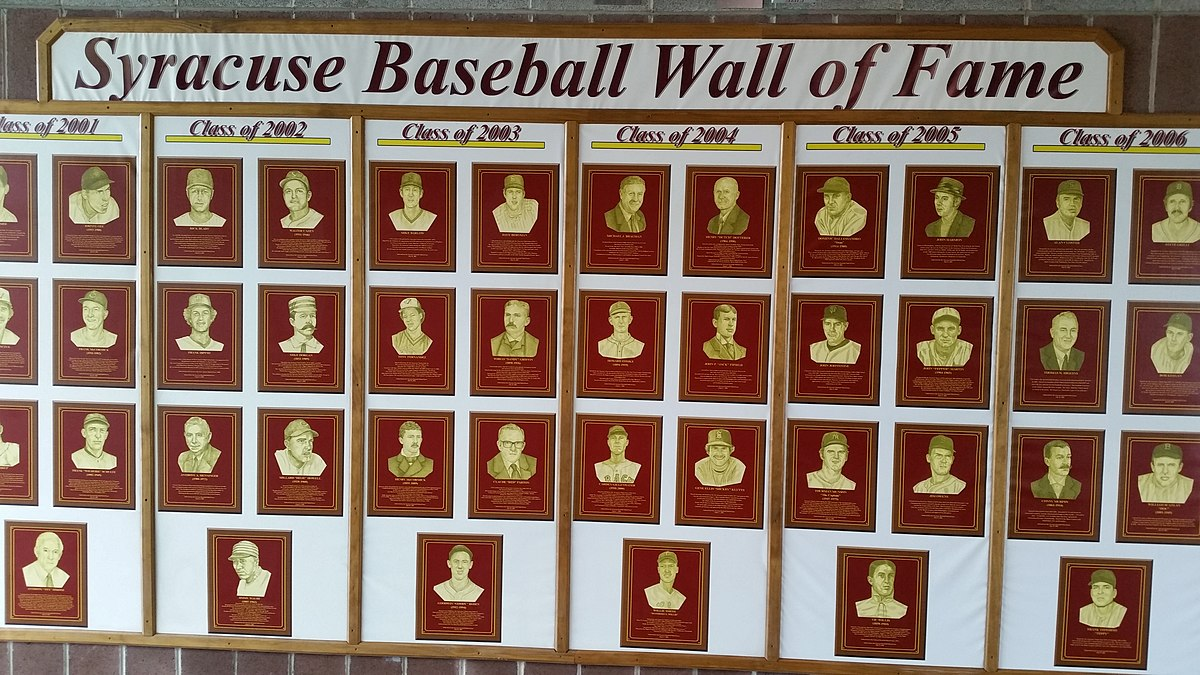 syracuse baseball wall of fame - wikipedia