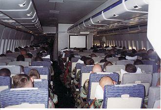 Tower Air - TowerAir Military (DOD) Charter Flight